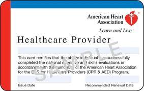 AHA BLS CPR Certification Class