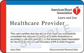 American Heart Association BLS Renewal Courses
