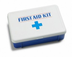 First-aid Safety Kit by the American Red Cross