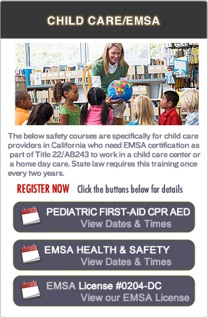 Concord EMSA Pediatric First-aid Classes