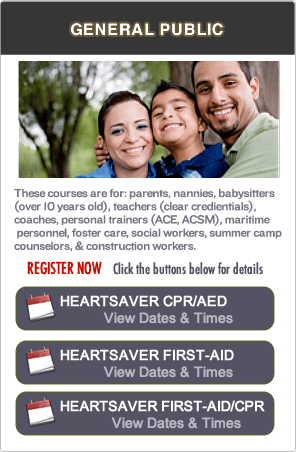 Concord CPR Certification Classes